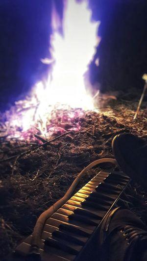 Fuego Fogon Fogones Playa Mar Del Plata Argentina Musica Melodica Musical Instruments Beach Fire