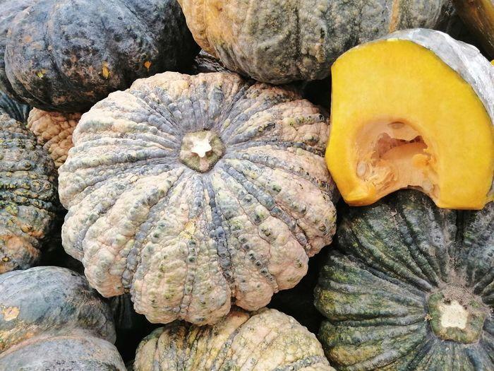 Full frame shot of pumpkin