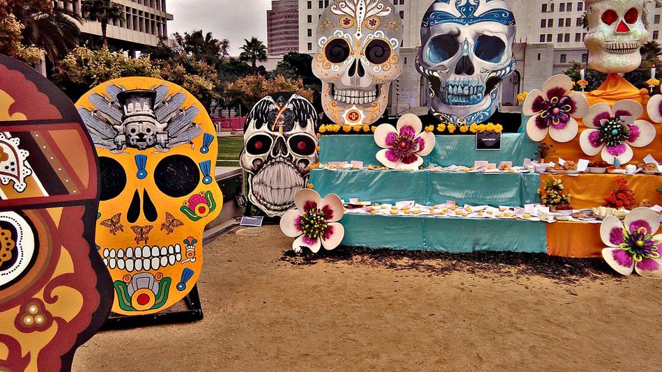 Multi Colored Traditions Culture No Persons Celebration City No People Skulls 💀