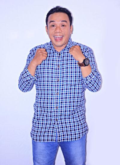 Asian man Portrait Men Smiling Human Hand Happiness Cheerful Studio Shot Colleague Posing Business Casual Smart Casual
