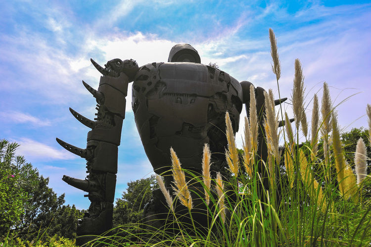 While in Tokyo, make sure check out Ghibli Museum. Such an amazing place, even though you are not an anime fan. Air Force Anime Animelover Army Army Soldier Day Field Ghibli Ghibli Museum Giant Robot Laputa Laputa: Castle In The Sky Low Angle View Military Nature Outdoors Robot Sky Tokyo Weapon