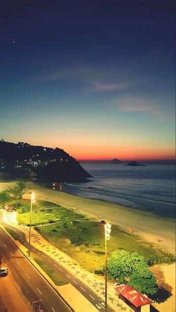 Rio De Janeiro Barra Da Tijuca Beach Amanhecer Insônia