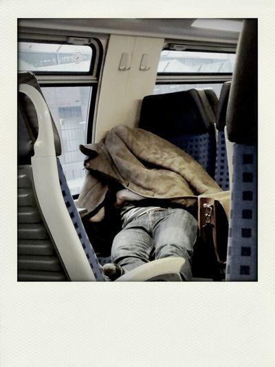 Menschen Und Die Bahn