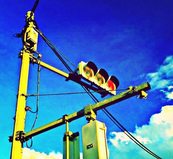 Stop Jap Streetphotography Japan Lookingup Light It Up Blue