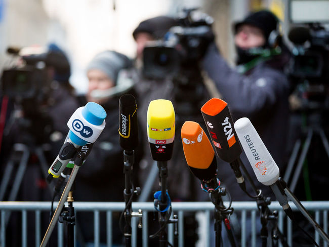 Waiting for Angela Merkel. Berlin Camera Work Channel Interview Mikrofon Politics Press Radio TV Station Tv Channel Crowd Fernsehsender Kamera Microphone Mikrophon Politics And Government Press Photography Presse Tv Focus On The Story