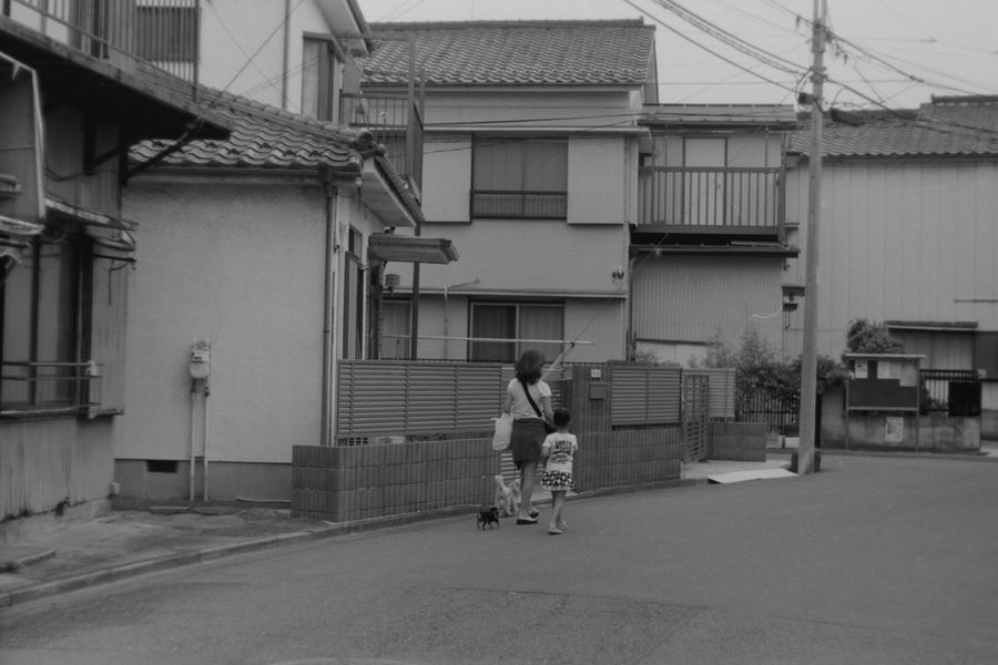Street. Monochrome Believeinfilm Leica3f Summitar