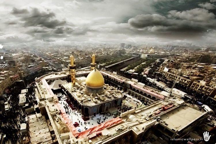 Karbala Paradise On Earth Shrine Of Imam Hussain A.s. Iraq Cloud - Sky First Eyeem Photo Muharram