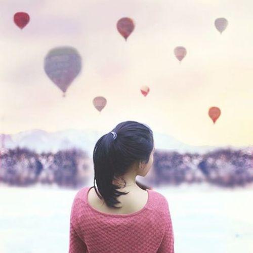 Baloons 🎈🎇🎊 Surreal Surrealism Digitalart  Digitalimaging Art_helps Pink Creative Creativevisuals Artofvisuals Visual Indonesiantraveler Bogorpisan