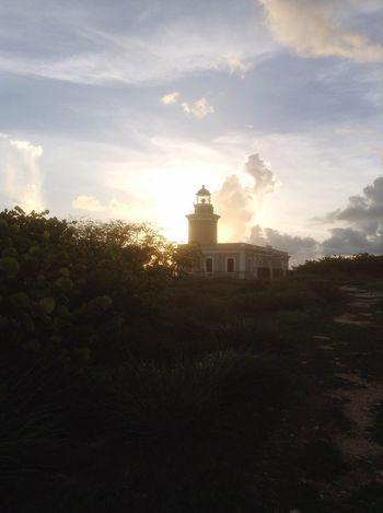 Lighthouse CaboRojo Farocaborojo Sunset Reflection Puerto Rico Sunset #sun #clouds #skylovers #sky #nature #beautifulinnature #naturalbeauty #photography #landscape