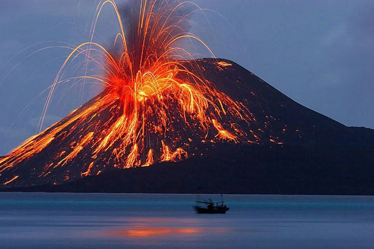 Volcanoes This is the eruption of the volcano TAMBORA. Eruption Of The Volcano Tambora