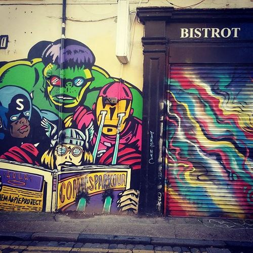 Just some of the street art found near Brick Lane markets. London Streetart Bricklane