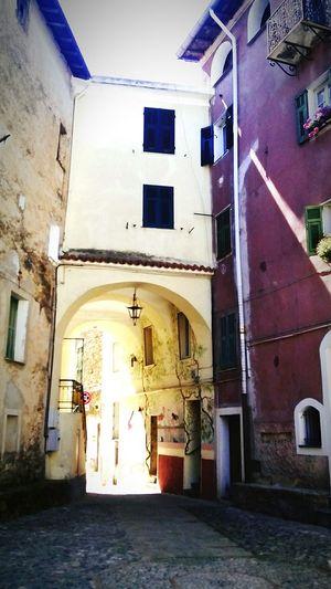 Borgo Antico Old Village Riviera Dei Fiori Liguria - Riviera Di Ponente Perinaldo Val Verbone Italian Riviera Ancient Village Urban Landscape Paesaggiourbano