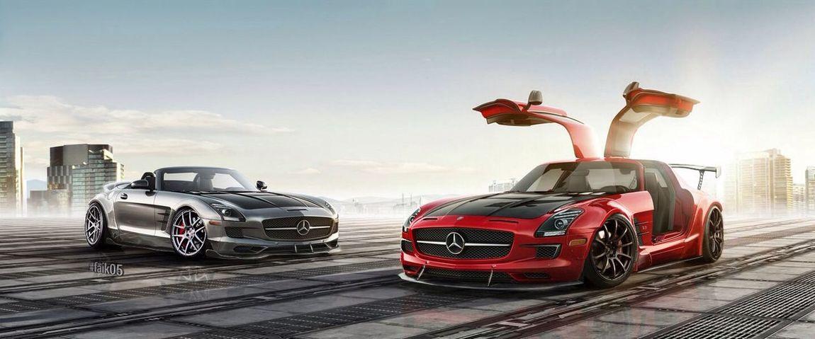 Mercedes Mercedes-Benz Sls SLS AMG Roadster Dreamstudioworks Faik05 Customcar Showcar Bodywork follow more : ww.faik05.deviantart.com