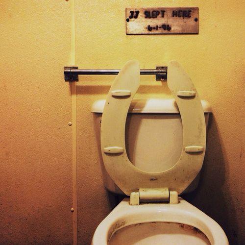 Bar Bathroom Bathroom Sleep Signs JJ Slept Here 6-1-96