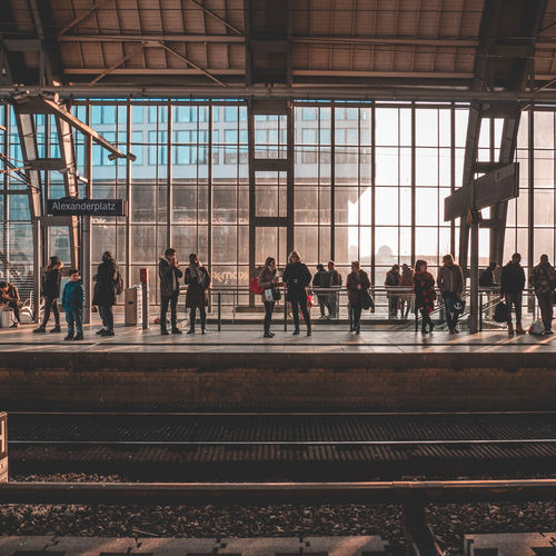 Architecture Built Structure Crowd Day Group Of People Indoors  Large Group Of People Men Mode Of Transportation Platform Public Transportation Rail Transportation Railroad Station Railroad Station Platform Railroad Track Real People Station Track Transportation Travel Waiting