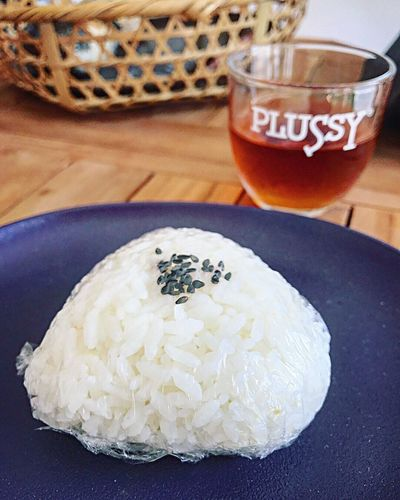 onigiri equal high energy 阪急庄内 庄内 山本米穀店 米 お米 Riceball Rice おむすび おにぎり Food And Drink Food Freshness Table Indoors  Drink Still Life Healthy Eating Ready-to-eat No People High Angle View Focus On Foreground