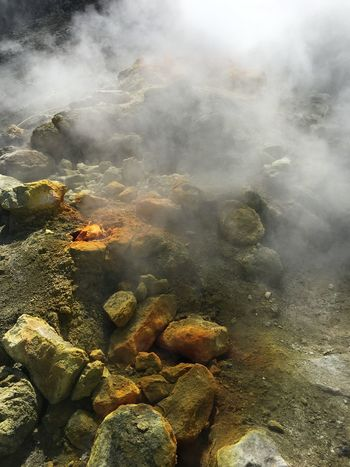 italy Nature Beauty In Nature Day Environment Geology Heat - Temperature Hot Spring Land Nature No People Non-urban Scene Outdoors Physical Geography Power In Nature Rock Rock - Object Smoke Smoke - Physical Structure Solid Steam Tranquility Water