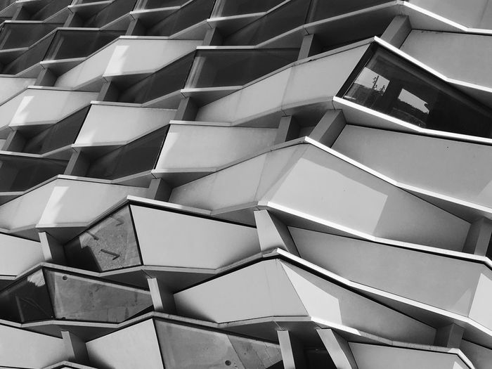 Repetition Full Frame In A Row Backgrounds Pattern Architecture No People Abstract Built Structure Indoors  Day Close-up Architecture Urban Street Streetphotography B&w Monochrome Black And White Outdoors Building Exterior Europe Urban Geometry Urbanphotography