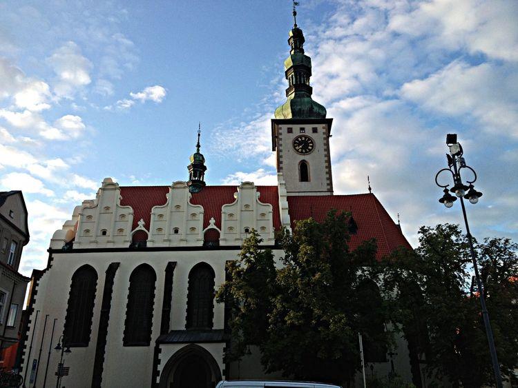 City Walking Around Taking Photos Church
