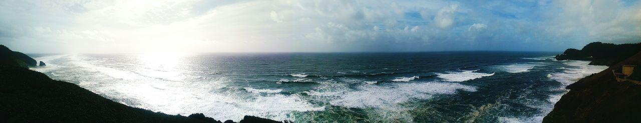 Ocean View Oceanside Panoramic