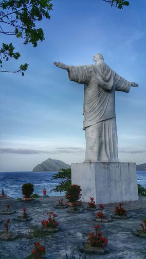 JESUS Statue...at Balirangeng, Siau