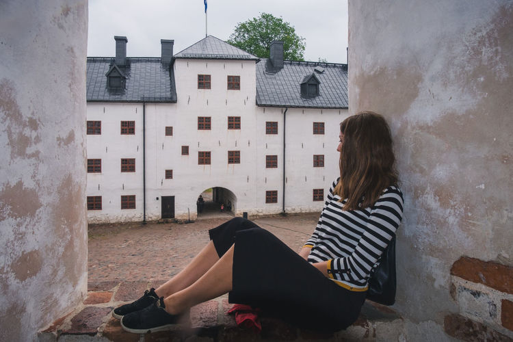 Architecture Baltic Castle Finland Nature Nature Photography Old Town Building Building Exterior Europe History Model North Outdoors Palace Road Trip Window