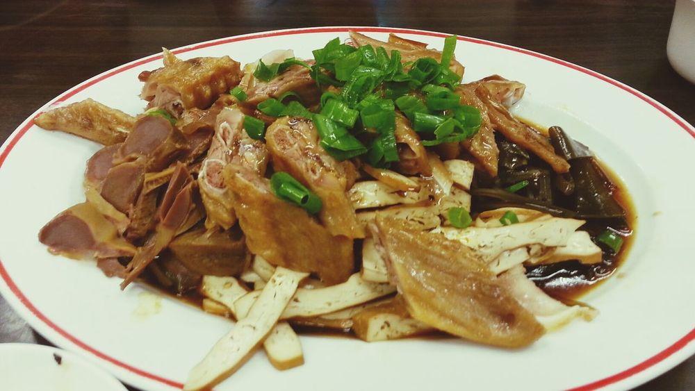 Dinner Taiwan Food 滷味切盤 Amazing Taiwan