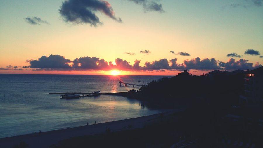Okinawa Japan Sunset Busena Terrace