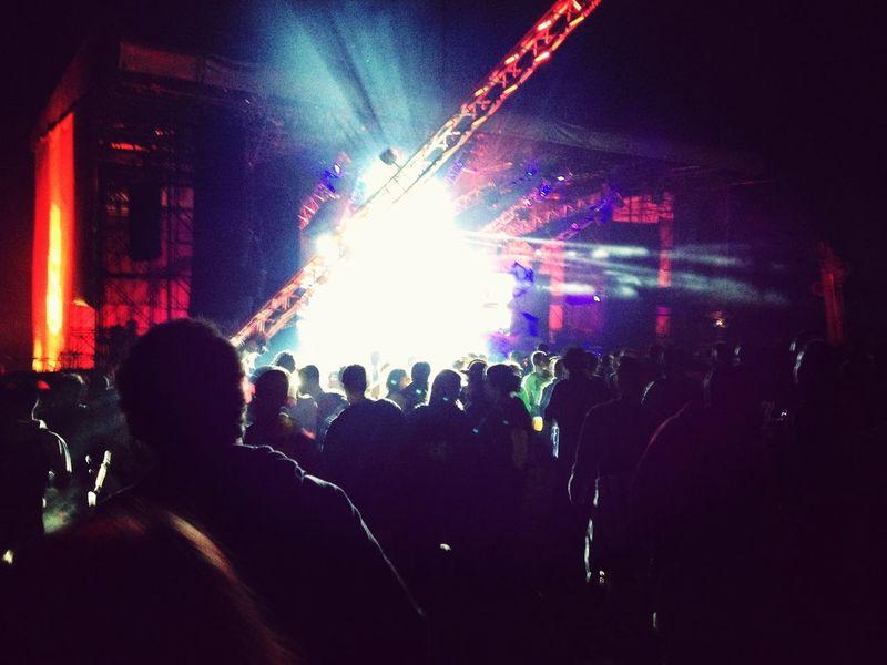 Amazing Concert Electronic Music Dancing TurnUp