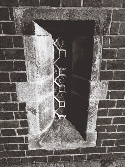 Gothic Almshouses Window Glass Stone Bedworth February Showcase: February Black And White Friday