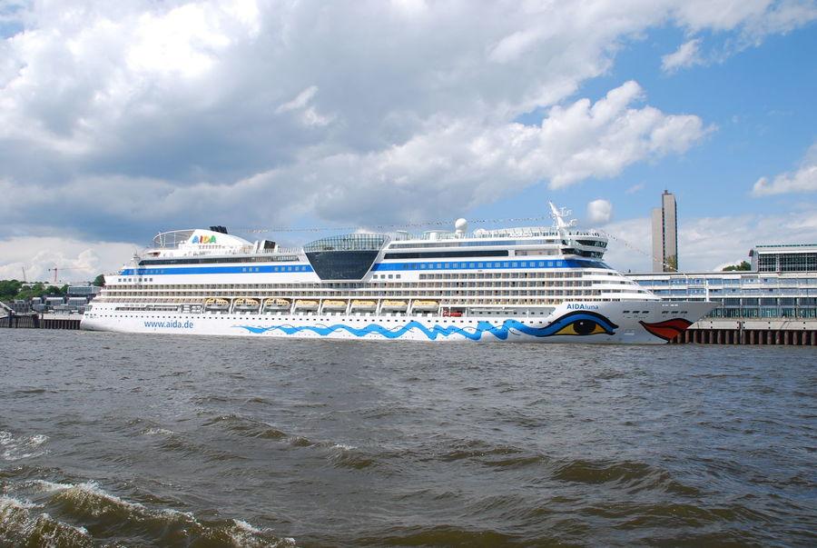 Aida Aida Luna Aidacruises Cruise Cruise Ship Kreuzfahrtschiff Mode Of Transport Nautical Vessel No People Sea Transportation Travel Destinations Water Waterfront