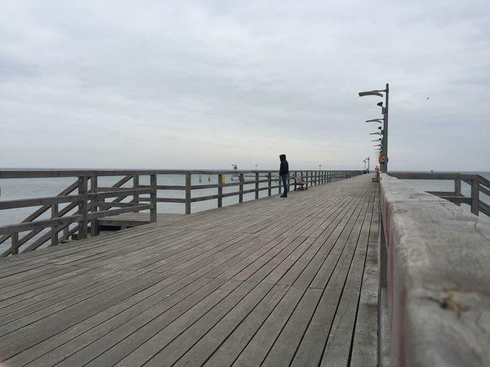 Mechelinki Molo Mechelinki Wybrzeze Morze Bałtyckie Zatoka Pucka