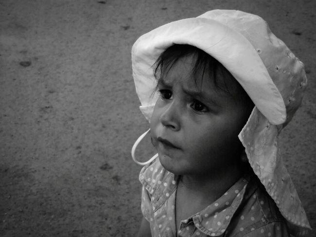 Serious Little Girl Portrait Of A Child Portrait Of Innocence Children's Portraits Black And White Portrait EyeEm Best Shots - People + Portrait The Portraitist - 2015 EyeEm Awards EyeEm Best Shots - Black + White Black And White