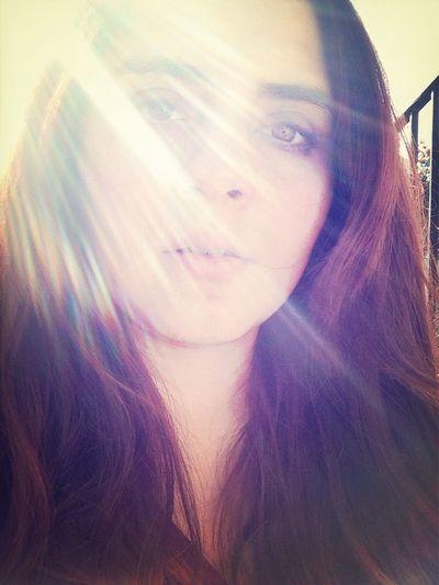 Sunset Selfportrait Selfie