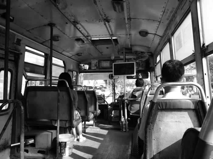 Commuters In Bus