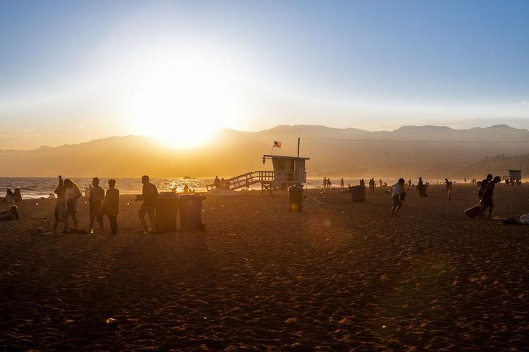 Beach Beachphotography Guard Lifeguard  Santa Monica Sunset Surf Surf's Up Surfing Us
