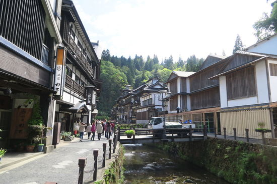 Japanese Traditional Japanese Hotel Onsen Architecture Building Exterior Built Structure House Street