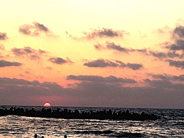 Alexandria_Egypt Sky Beach Water Beauty In Nature Sea Sunset Nature
