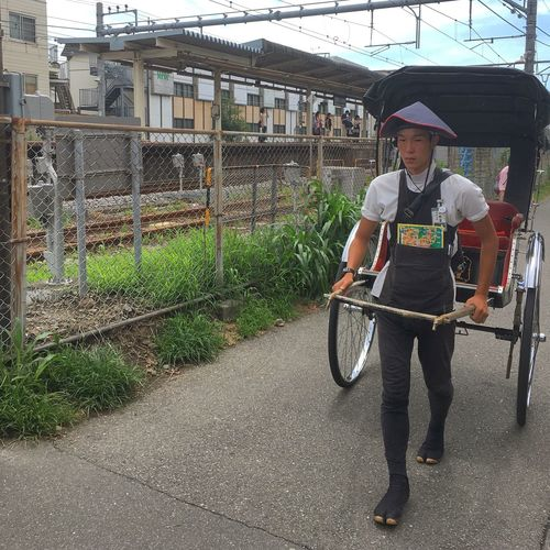 Runner One Person Occupation Transportation Day First Eyeem Photo Japan