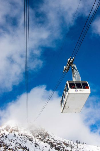 Sky Cable Cloud - Sky Power Line  Overhead Cable Car Electricity  Ski Lift Transportation Day Connection Outdoors Power Supply Snow Mode Of Transport Nature Cold Temperature Scenics Winter Beauty In Nature No People
