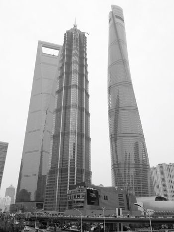Shanghai China Skyscrapers Startrek Business City JRM Architecture Pudong From My Point Of View