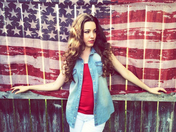 Happy Fourth of July!! ❤️??? Taking Photos Portrait Flag Pretty