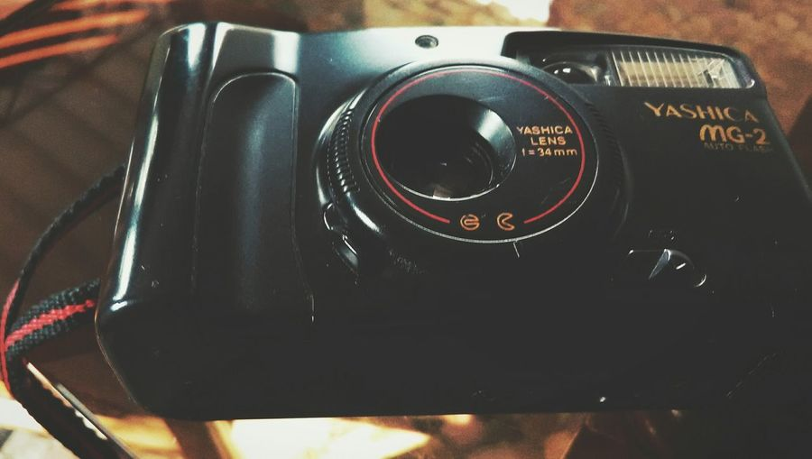 one camera holds thousands of memories....!!!!..my first camera!!!!😍😍 Old-fashioned Black Color No People Indoors  Close-up Technology Day First Eyeem Photo EyeEm Best Edits EyeEmBestPics Awesome_captures Memories ❤ Old Camera Old Memories :) Miss Old Times Tranquility Indoors  Yashica AWESOME!!