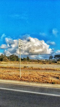 Slow down Cloud, speed limits 45! Lol Taking Photos Lonelycloud