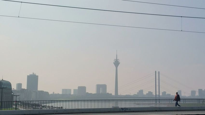 City Urban Skyline Sky Cityscape Travel Destinations Outdoors Tower Architecture Skyscraper People Nature Day Adults Only Adult Düsseldorf I Like My City I LOVE PHOTOGRAPHY I LIKE👍EyeEm😃👍 I Like This Shot Düsseldorf-Walk Am Rhein