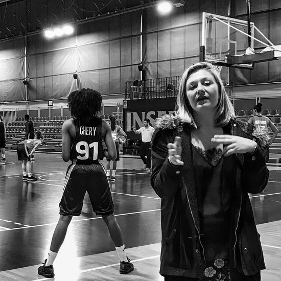 Chery91 😀 Ladies Basketball Future Star 💪 Tv Style Sport Insep Paris France Photooftheday Teamwork Indoors  Outofthephone Mobilephotography Iphoneonly IPhoneography Iphonephotooftheday Iphonephotography EyeEm IPhoneography Iphonographie Bnw_captures Black And White Bnw Snapseed