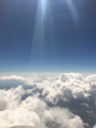 Let the light shine upon you! Clouds And Sky Aerial Photography