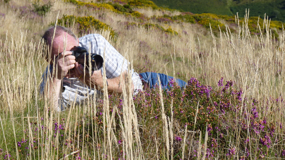 At Ground Level England, UK Somerset England Adult Male Day Flower Grass Nature One Man Only One Person Outdoors People Photographer Plant