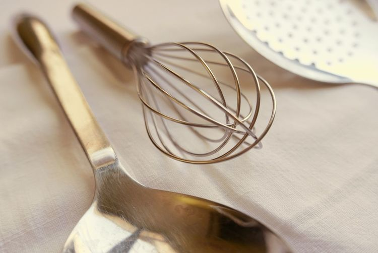 Close-up of cooking utensil