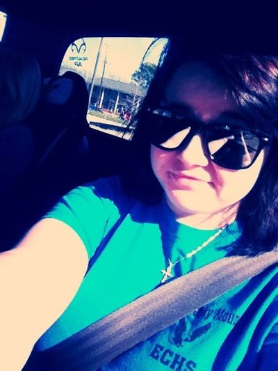 Was sitting at a long stop light. Lol .